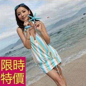 泳衣比基尼三件式三件式俐落格調-自信細緻韓版沙灘必備女泳裝2色54g171 [正韓進口][米蘭精品]