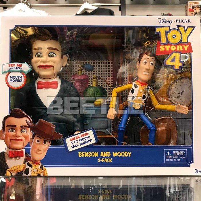BEETLE 現貨 迪士尼 玩具總動員 TOY STORY 4 阿本 胡迪 WOODY BENSON MATTEL 可動