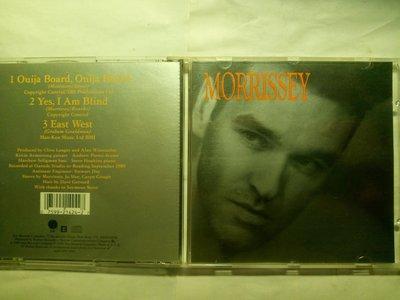 Morrissey 玩算命板 Ouija Board, Ouija Board 美版單曲CD @The Smiths