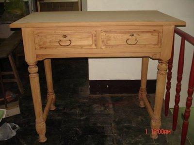 """典藏70-80年前一張""""巴洛克式""""的老書桌"""