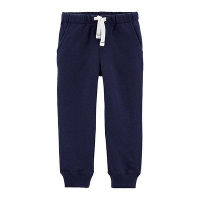 【Carter's】CS男童棉長褲 深藍 F03191003-13