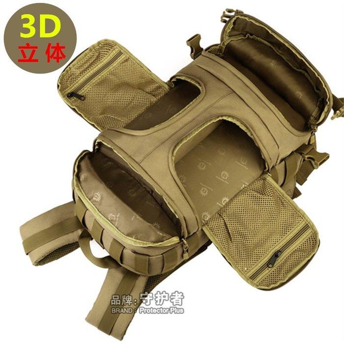 [包妳喜歡]35升戶外戰術背包軍迷雙肩包雷鳥男女運動騎行登山包攝影相機包016