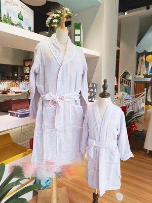 cotton life-120股小馬棉紗成人浴袍