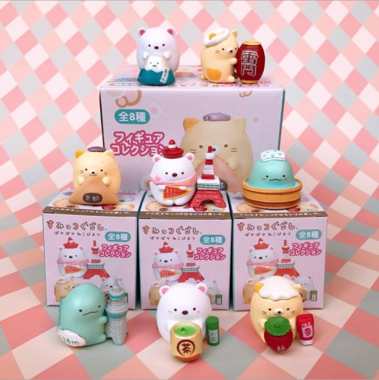 《琉璃的雜貨小舖》角落小夥伴 角落生物日本風景名勝盒玩8款一組