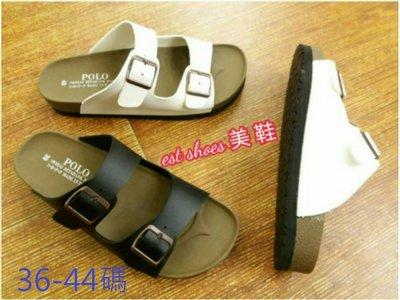 大小尺碼勃肯拖鞋  MIT台灣製 寬版可調扣式扣環勃肯鞋拖鞋 36-44碼-IP shoes