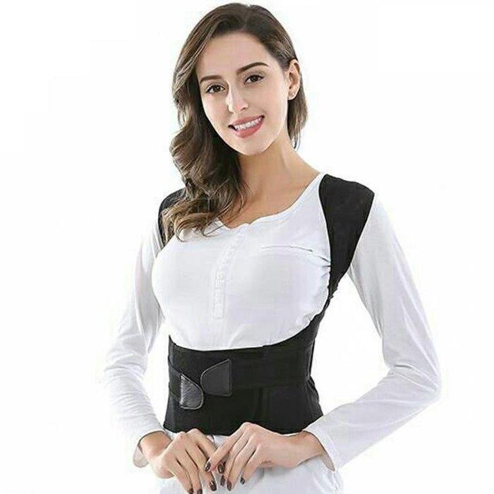 【瘋狂夏折扣】成人男女士隱形預防衣駝背預防帶背部糾正防駝背神器夏揹揹
