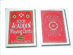 【USPCC撲克牌】ALADDIN 撲克牌 #1001 SMOOTH FINISH 紅色