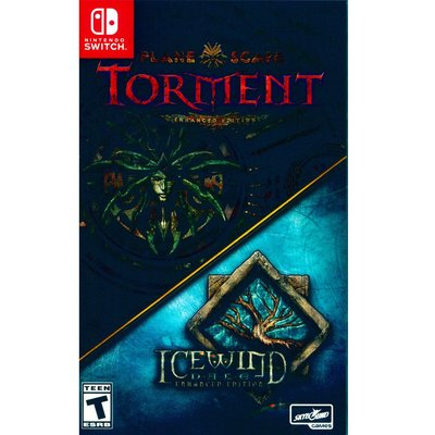 (現貨全新) NS SWITCH 異域鎮魂曲 & 冰風之谷 加強版合輯 英文美版  Planescape Torment