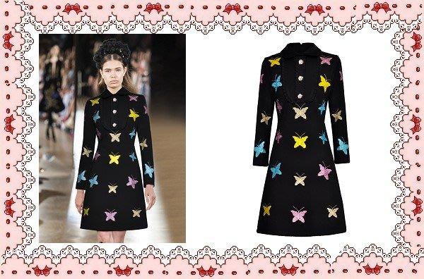 ⚡肯尼芭比⚡【保證實品拍攝】【設計感】黑色長袖及膝裙☆°水鑽星星連身洋裝☆°╮閃亮寶石短裙【㊣日本製】