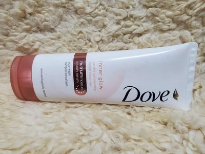 日本同步品Dove多芬 洗面乳inner glow gentle exfoliating facial cleanser