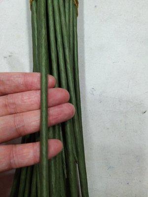 人造花配件花杆花枝 手工DIY玫瑰花材料// 細太捲 綠鐵絲//粗鐵絲