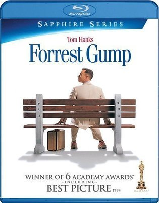BD 全新美版【阿甘正傳】【Forrest Gump】Blu-ray 藍光