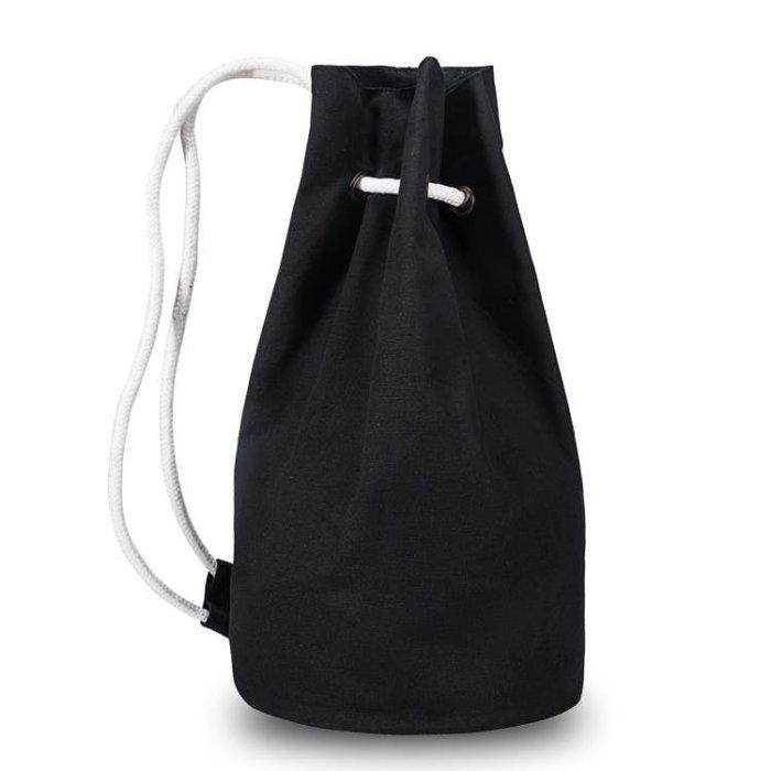 帆布籃球包籃球袋加厚訓練包收納束口包袋運動雙肩斜背排球足球包