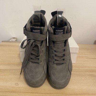 基本款高筒鞋潮短靴休閒鞋(42號/ 666-1027) 嘉義市