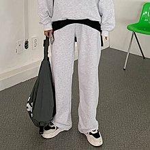 i-Mini 正韓|腰部抽繩綁結寬鬆直筒棉褲|3色, 韓國連線‧代購‧空運【02182853LY】