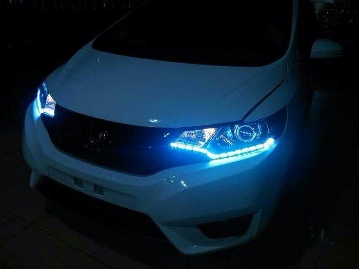 ◇光速LED精品◇ 50CM 45LED SMD 轉向燈 淚眼燈 黃白雙色 直購999元~