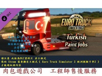 PC版 資料片 肉包 歐洲模擬卡車2 Euro Truck Simulator 2 - Turkish Paint