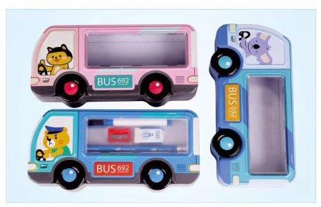 【好孩子福利社】汽車鉛筆盒套裝 卡通文具盒 三件套兒童學生學習文具 多款選擇