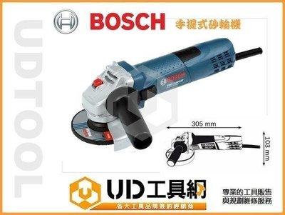 @UD工具網@ BOSCH 4英吋手持式砂輪機 7-100 博世 公司貨 砂輪切斷機 磨切機 電磨機 切割機 研磨機