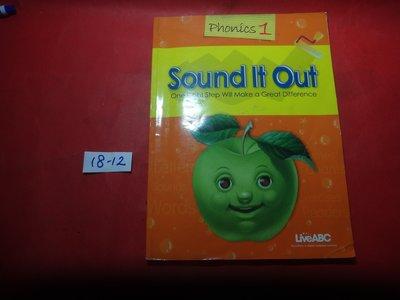 【愛悅二手書坊 18-12】Sound It Out    Phonics1(內附光碟)