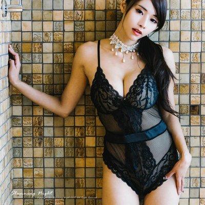 【BK-201】有特大尺碼☆歐美秘密女郎蕾絲連體衣☆Stunning Night蜜月假期