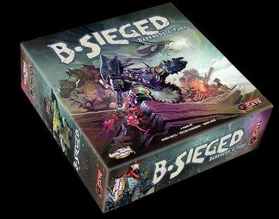 煉獄圍城:黑暗憤怒 B-Sieged 擴展 英文桌游現貨