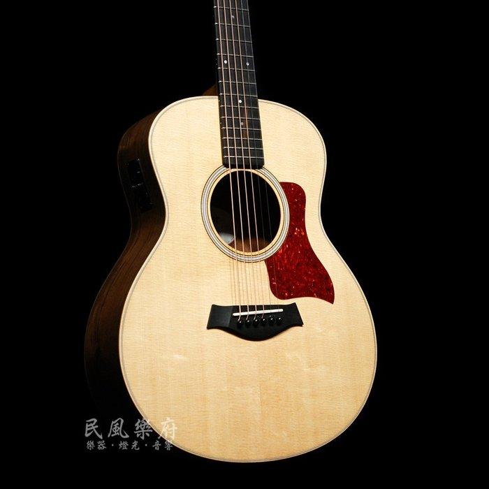 《民風樂府》Taylor GS Mini-e Walnut 胡桃木側背板 全新ES拾音系統 單板電木旅行吉他 全新到貨