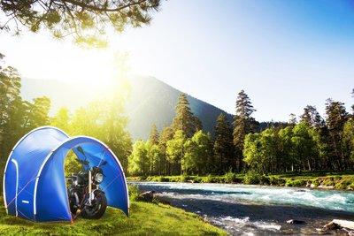 梁記零配件小舖 DL ADVENTURE DROMEDARY 單峰駱駝系列 摩托車專用露營帳篷