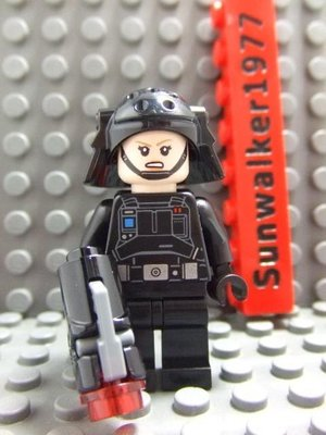 【積木1977】Lego樂高-全新 星際大戰韓索羅外傳-帝國軍女移民軍官 (含武器)(75207)