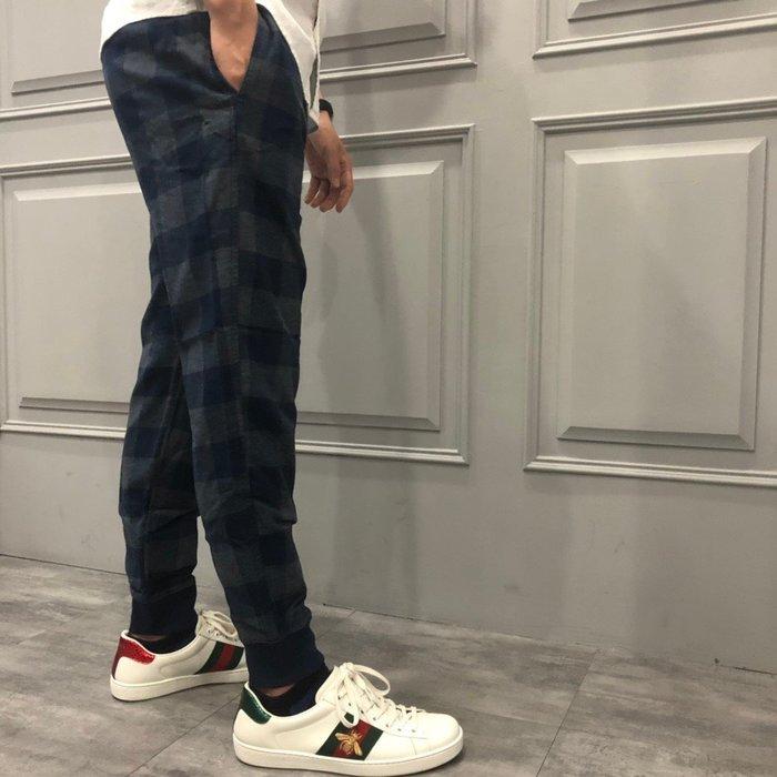 【現貨】 男 HCO 休閒縮口格子長褲  保證正品 歡迎來店參觀選購