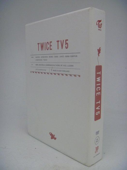 【月界】TWICE TV5 IN SWITZERLAND 瑞士 3DVD (韓國進口版)_周子瑜等_現貨 〖專輯〗CFU