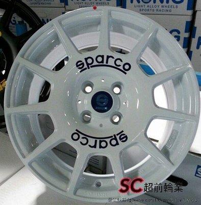【超前輪業】編號(283) SPARCO TERRA(ML510) 16吋鋁圈 4孔100 非MOMO HRE OZ