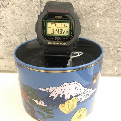CASIO G-SHOCK DW-5600 series DW-5600TMN-1 招財貓 黑色 GSHOCK DW5600TMN