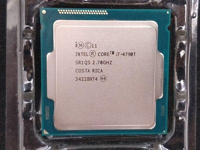 【含稅】Intel Core i7-4790T 2.7G 超低功耗 45W 四核八線 1150 正式CPU 一年保 HD