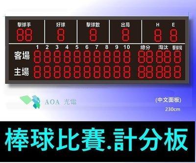 棒球比賽專用裁判計分看板-專業比賽國標型-戶外運動比賽計分板球賽計分器球賽比分板棒球比賽專用計分牆-中文面板/英文面板B