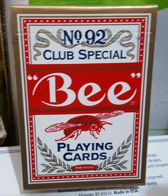 【天天魔法】【A106】正宗原廠~蜜蜂牌(紅背)~Bee Playing Card