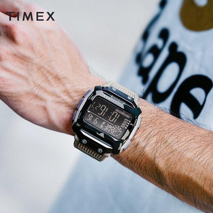 南◇2019 11月 Timex Command™ Shock 54mm 防水 軍規 電子錶 手錶 迷彩 黑冷光