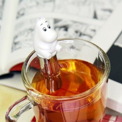 ❅PAVEE❅ 韓國MIKEEP~ Tea Infuser Moomin 創意造型 姆明 不鏽鋼濾茶器泡茶器茶漏