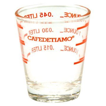 ~附發票~【城市咖啡廣場】TIAMO 玻璃量杯1.5oz AC0011