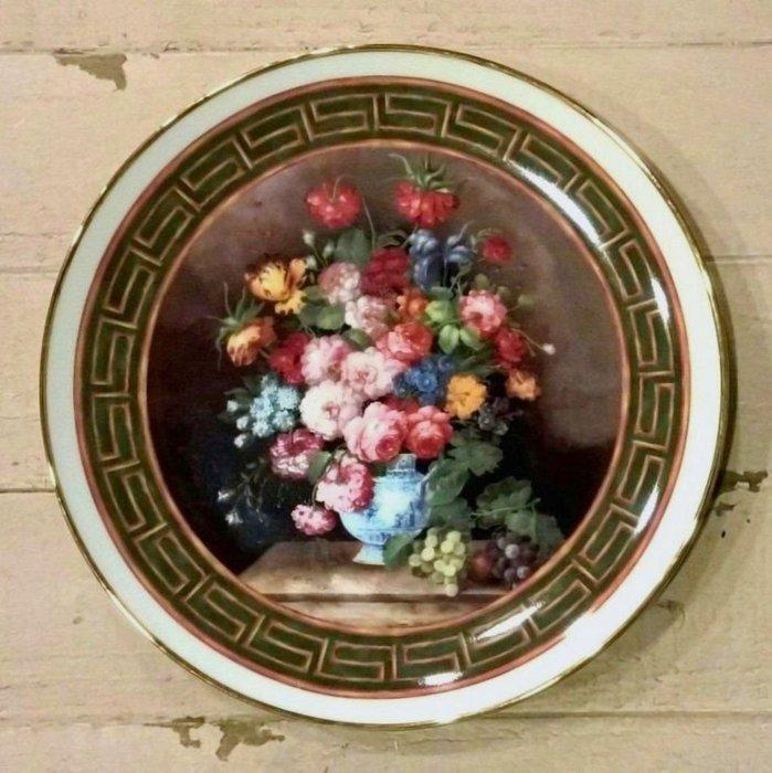 《齊洛瓦鄉村風雜貨》德國手繪彩盤