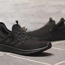 D-BOX  ADIDAS CLOUDFOAM PURE NEO 休閒 時尚 百搭 輕盈 黑色 慢跑鞋