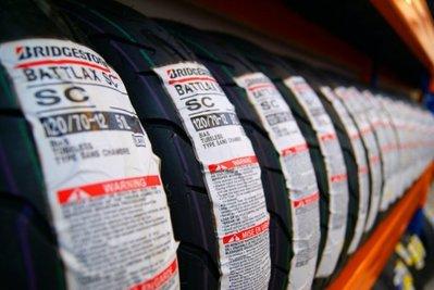 【大台南】歐多邁輪胎部 BATTLAX SC1 140-70-13  安裝+氮氣+平衡+除臘.[工資另計]