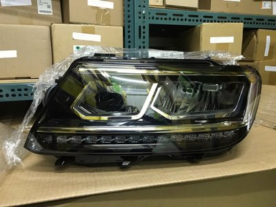 VW 2016年~2019年 TIGUAN LED大燈總成 原廠件 歐洲產