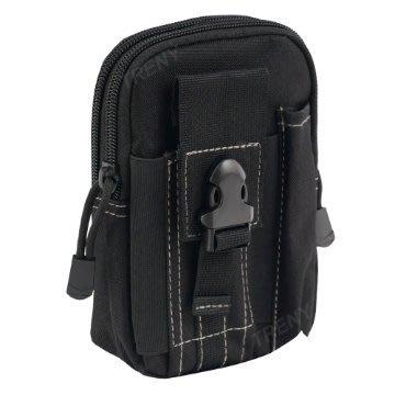 【TRENY直營】戰術手機腰包-黑 迷彩包 背包 運動腰包 生存遊戲 水電工 1525
