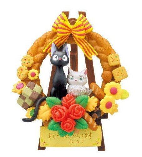 【W先生】日版 魔女宅急便 黑貓吉吉&白貓莉莉 3D 立體拼圖 吉卜力 宮騎駿 KM-38