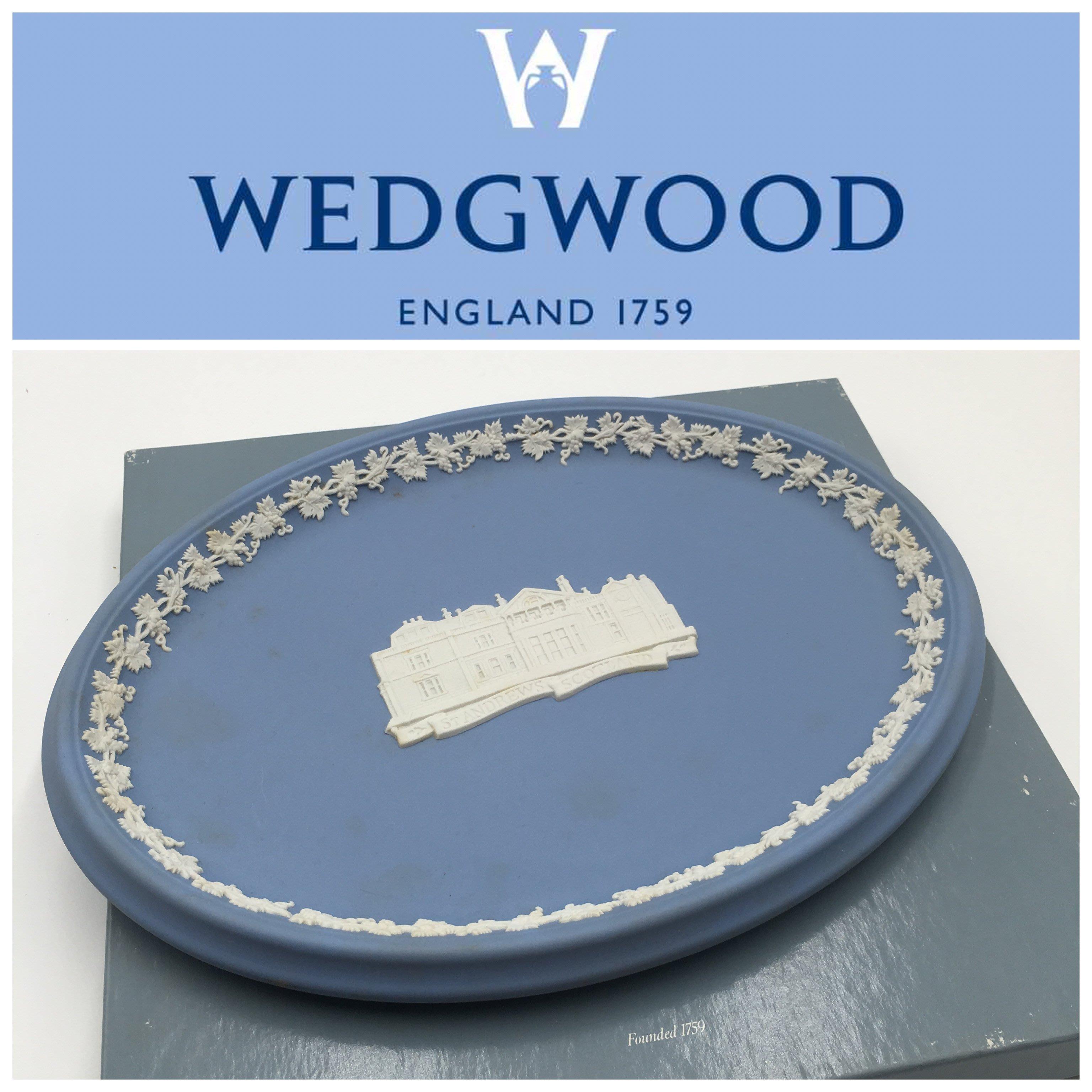 【皮老闆二店】二手真品 Wedgwood 瓷器 A605