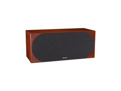 英國Monitor Audio 銀Silver C350 中置喇叭 木紋版 桃園專賣店推薦 名展音響