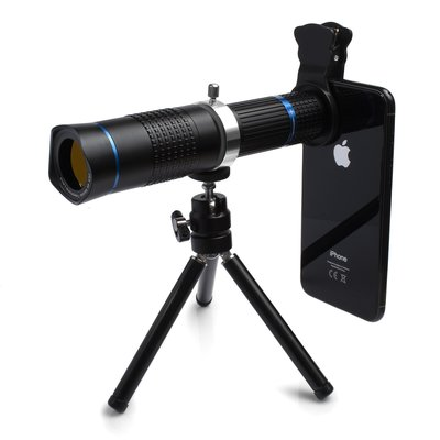 26X 4K Mobile Tele Lens for Mobile MY-2018 iPhone適用26倍手機單筒望遠鏡兩用長砲