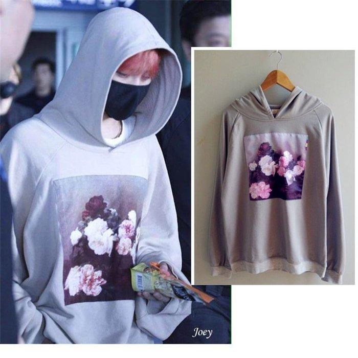 國際代購...权志龙LOSER同款卫衣大码BIGBANG我们不要相爱了GD机场同款外 gd exo 韓版 韓風 藝人款式