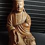 諸羅山人---竹雕館館藏竹雕圓雕人物守護舊家玄關20年之觀音聖像竹雕